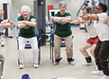 Study shows regular exercise can help at-risk seniors stay independent.
