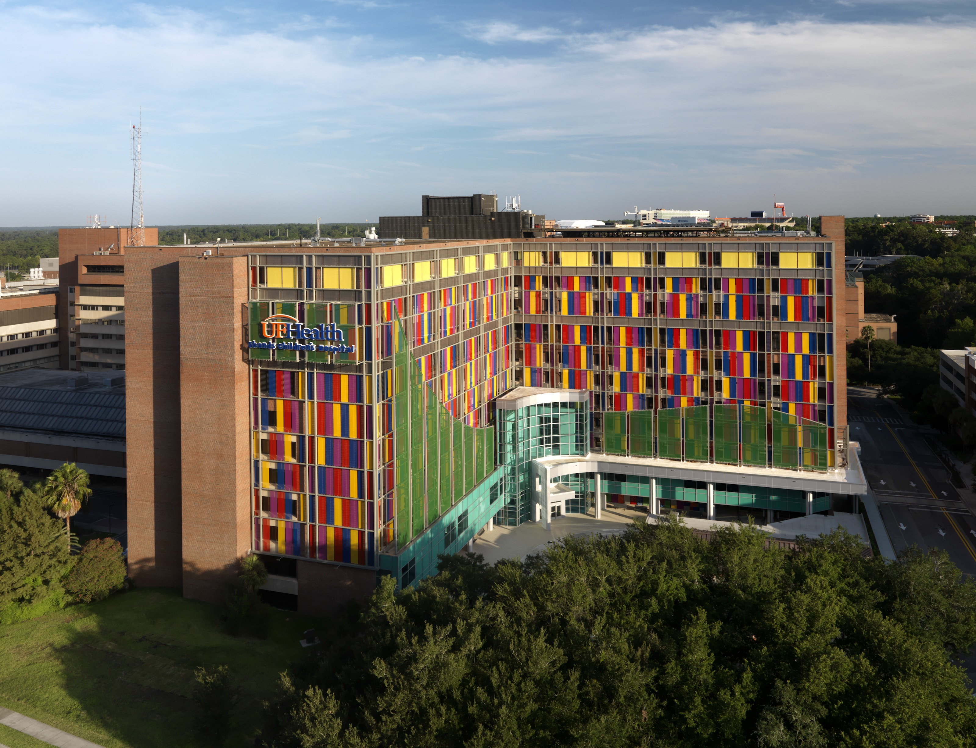 UF Health Shands Children's Hospital Rendering Photo