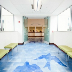 Entrance to UF Health Pediatric Specialties - Medical Plaza