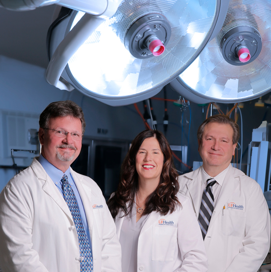 The physicians of UF Health Cardiothoracic Surgery - Leesburg