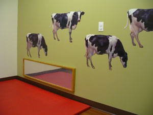 Dairy Cow Room