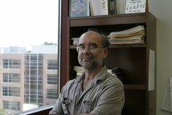 Grant McFadden, Ph.D., a professor in the department of molecular genetics and microbiology in the UF College of Medicine