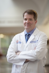 Thomas Beaver, M.D., M.P.H., chief of the division of thoracic and cardiovascular surgery at UF Health