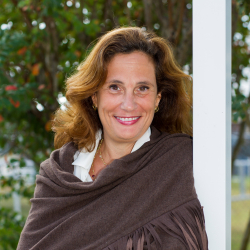 Ilaria Capua, D.V.M., Ph.D., an avian influenza expert and the director of the University of Florida's One Health Center of Excellence for Research and Training