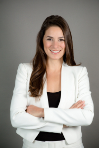 Michelle Cardel, Ph.D., R.D., an assistant professor in the UF College of Medicine's department of health outcomes and biomedical informatics.