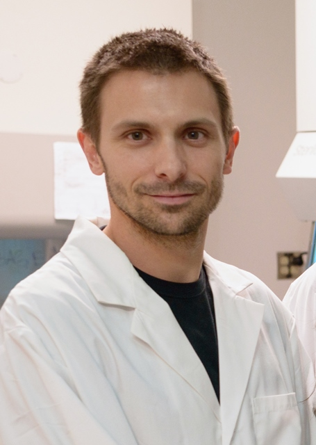 Loic P. Deleyrolle, Ph.D., a research assistant professor of neurosurgery in the UF College of Medicine