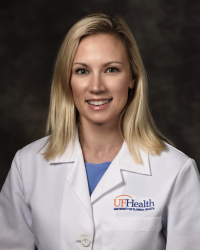 Elise Fallucco, M.D., an associate professor of psychiatry at the UF College of Medicine – Jacksonville