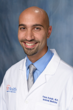Fares Ayoub, M.D., a second-year internal medicine resident in the UF College of Medicine's department of medicine