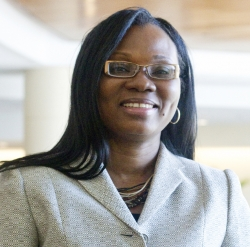 Folakemi Odedina, Ph.D., a professor of pharmacotherapy and translational research in the University of Florida College of Pharmacy