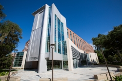 The George T. Harrell, M.D., Medical Education Building is the University of Florida's home for medical students and also supports the training of students from the other UF Health Science Center colleges.
