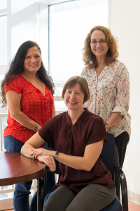 Lori-Ann Ferraro, M.A., Christine Myers, Ph.D., and Claudia Senesac, Ph.D., lead a new program to train early childhood therapists.