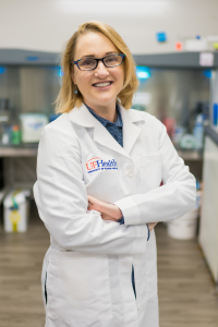 Nicole M. Iovine, M.D., Ph.D., chief epidemiology officer for University of Florida Health Shands Hospital system.
