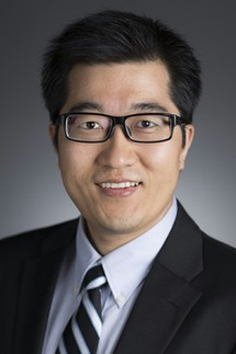 "Jinhai ""Stephen"" Huo, Ph.D., M.D., Ms.PH., an assistant professor at the UF College of Public Health and Health Professions' department of health services research, management and policy"