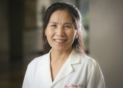Li-Jun Yang, M.D., is a professor of hematopathology in the UF College of Medicine's department of pathology, immunology and laboratory medicine.