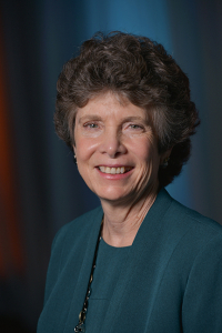 Susan Nittrouer, Ph.D., a professor and chair of the department of speech, language, and hearing sciences at the UF College of Public Health and Health Professions, part of UF Health.