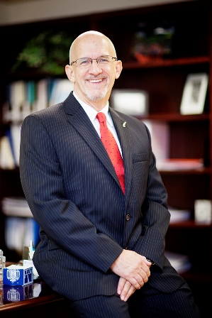 Boyd Robinson, D.D.S., M.Ed., interim dean of the College of Dentistry