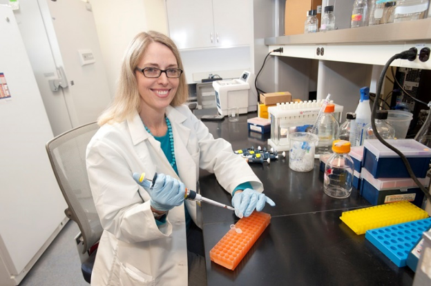 Larissa Cavallari, Pharm.D., an associate professor, led a team of UF Health researchers that presented findings at the American Heart Association's Scientific Sessions that showed a genetic test can help reduce the risk of cardiovascular events by guiding antiplatelet drug therapy for some heart patients.