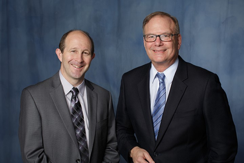 Dr. Todd Golde, Director, and Dr. Steven DeKosky, Deputy Director