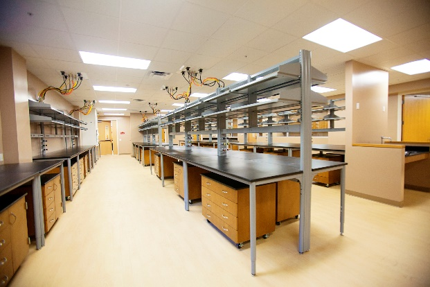 New laboratory space of the Brain Tumor Research Program in the MBI.