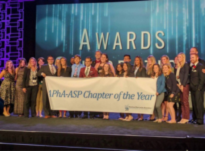 In March 2017, the UF chapter of the American Pharmacists Association Academy of Student Pharmacists, or APhA-ASP, was recognized as the national chapter of the year. Comprising nearly 600 UF pharmacy students at campuses in Gainesville, Jacksonville, Orlando and St. Petersburg, the student organization competed alongside more than 125 other APhA-ASP chapters to secure the national award.