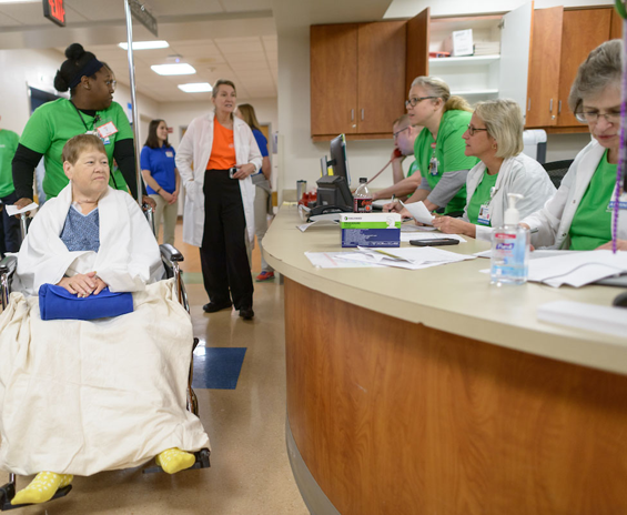 On Sunday, Dec. 10, we opened our two new hospitals — the UF Health Neuromedicine Hospital and the UF Health Heart & Vascular Hospital. In about six hours, our physicians, nurses, patient transportation staff and many other care teams successfully transferred 139 patients to their new rooms.
