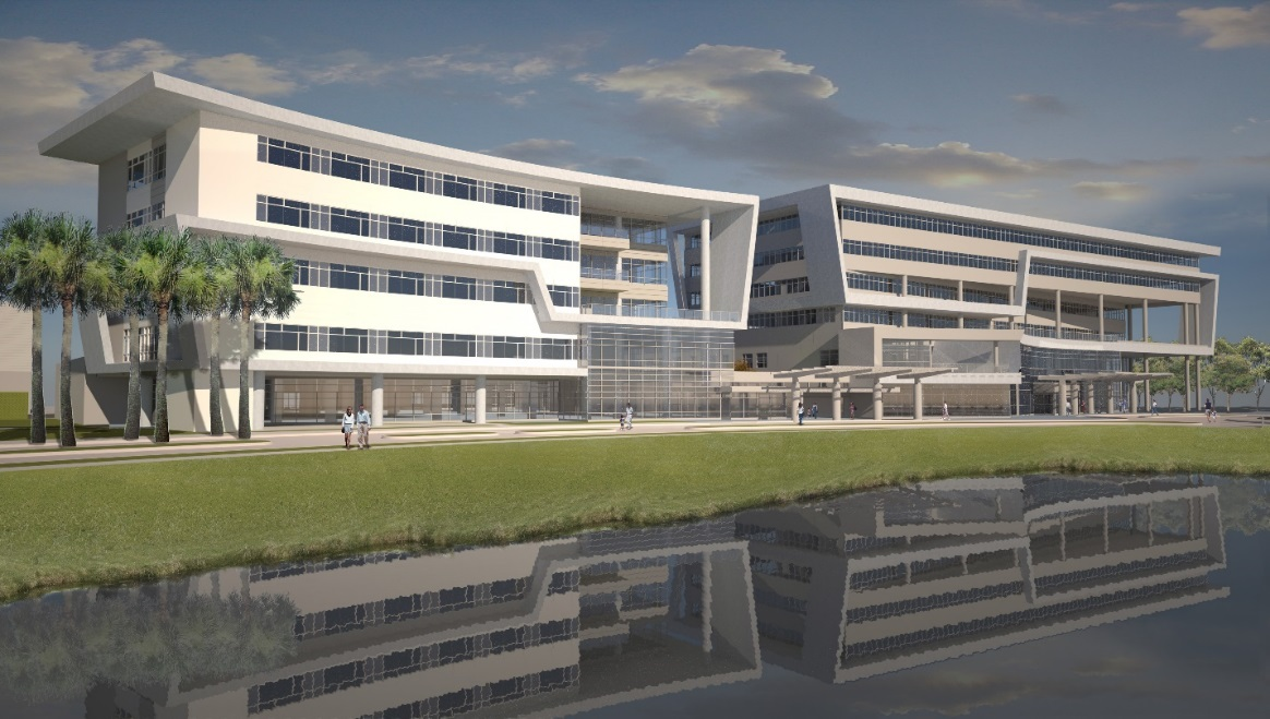 The new hospital is expected to open mid-2017.