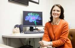 Catherine Price, Ph.D., the study's lead investigator and an assistant professor in the department of clinical and health psychology in the UF College of Public Health and Health Professions