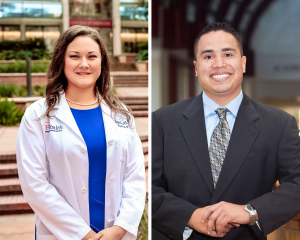 Study lead author Andrea Riner, M.D., M.P.H, a surgical resident at the UF College of Medicine, collaborated on the paper with Jose Trevino, M.D., chair of surgical oncology and associate professor of surgery at the VCU School of Medicine.