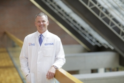 Steven J. Hughes, M.D., chief of the division of general surgery in the UF College of Medicine