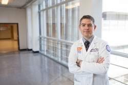 Thomas George, M.D., principal investigator at UF and medical director of the GI Oncology Program