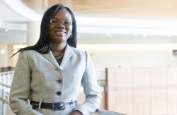Folakemi Odedina, Ph.D., a UF professor of pharmacy and associate director of health disparities for the UF Shands Cancer Center.