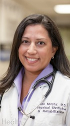 Wilda Murphy, M.D. is the medical director at UF Health Rehab Hospital