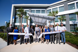 The new $36 million UF Health Springhill medical building, behind the original facility off Northwest 39th Avenue in Gainesville, is expected to serve an estimated 70,000 patients each year.