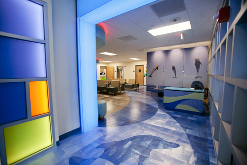 Entrance to the Pediatric ER