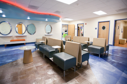 Pediatric ER entrance