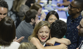 121 members of the UF College of Medicine Class of 2019 match into residencies at annual Match Day ceremony.