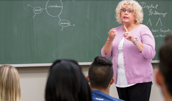 Debbie drove the distance when her breast cancer kept her from teaching.